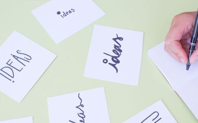 Write It Down: The Power of Putting Your Ideas On Paper